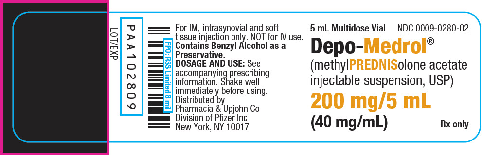 PRINCIPAL DISPLAY PANEL - 200 mg/5 mL Vial Label
